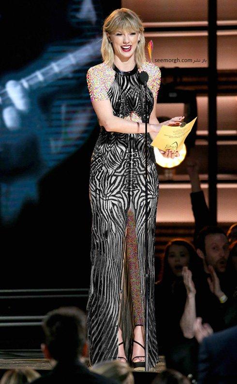 مدل های لباس چهره های مشهور هالیوود در مراسم CMA awards 2016