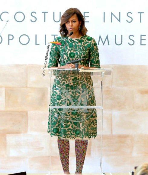 انواع مدل لباس شیک به سبک میشل اوباما، بانوی اول کاخ سفید