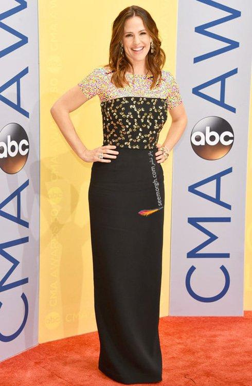 مدل لباس جنیفر گارنر jennifer Garner در CMA awards 2016