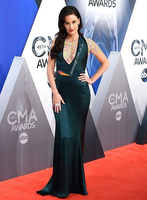 مدل لباس کیسی ماسگریو Kacey Musgraves در CMA awards 2016