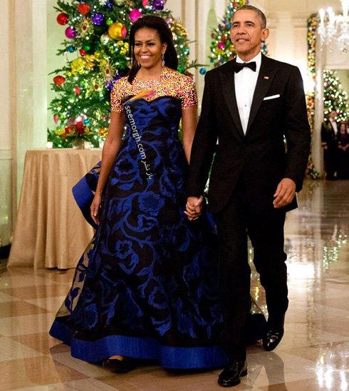 مدل لباس به سبک میشل اوباما، بانوی اول کاخ سفید
