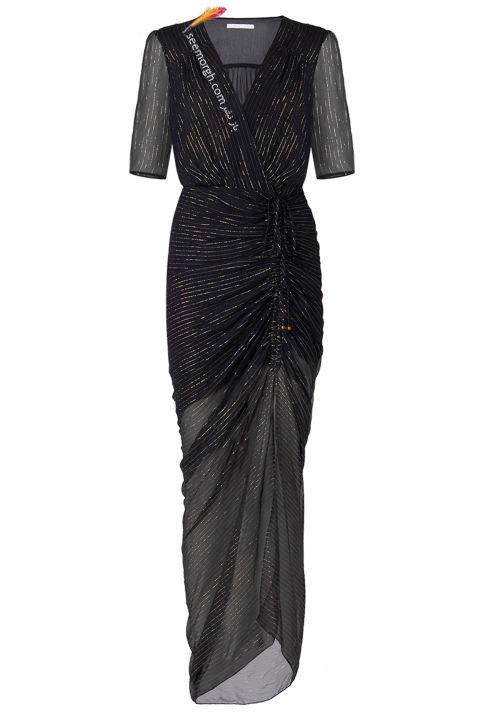 گالری عکس های لباس شب زن شیک و ساده