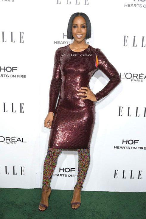 مدل لباس مجلسی کلی رولند