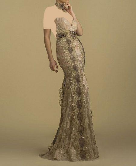 انواع مدل لباس مجلسی زنانه شیک و زیبا 2017