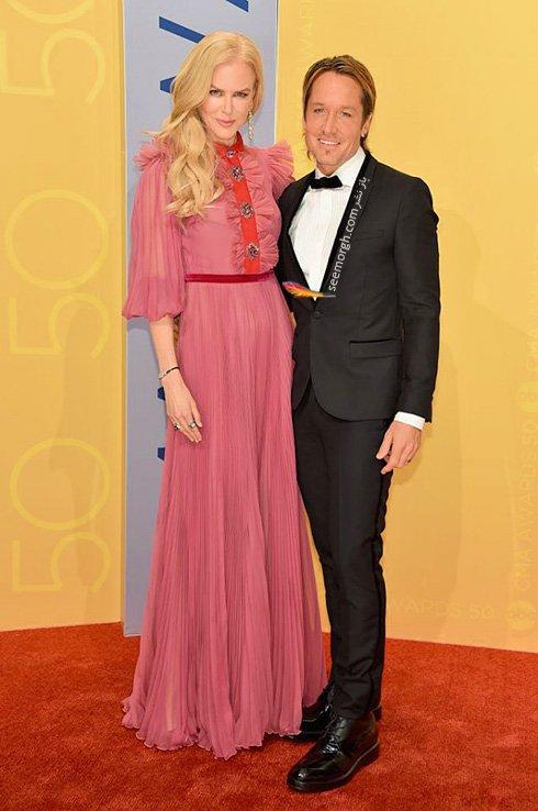 مدل لباس نیکول کیدمن Nicol Kidman در CMA awards 2016