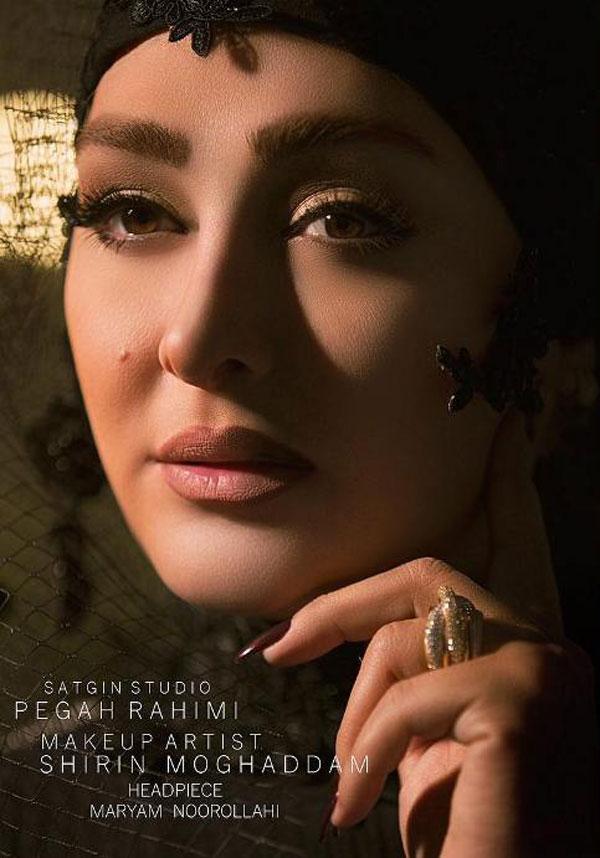 عکس های الهام حمیدی به عنوان مدل آرایشی