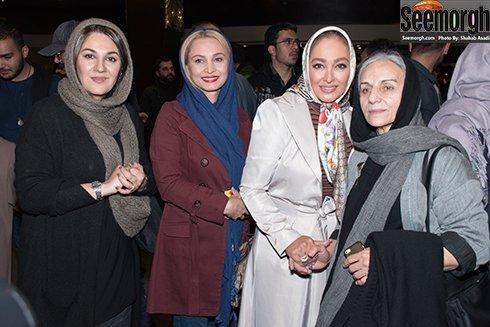 عکس های الهام حمیدی، ستاره اسکندری و مریم کاویانی در اکران فیلم نفس