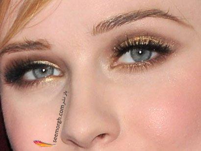 آرایش چشم هنری متالیك