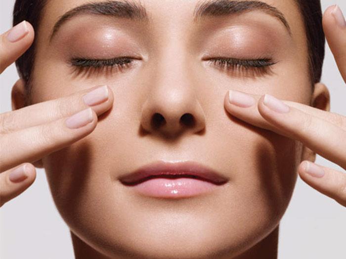 سفت کردن پوست با ماساژ صورت