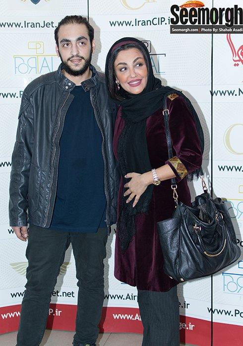 عکس های دیدنی از فقیهه سلطانی، شقایق فراهانی و پسرش در مراسم اکران فیلم جاودانگی
