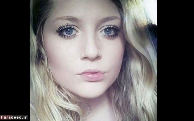 دختر زیبایی که فکر می کند زشت است