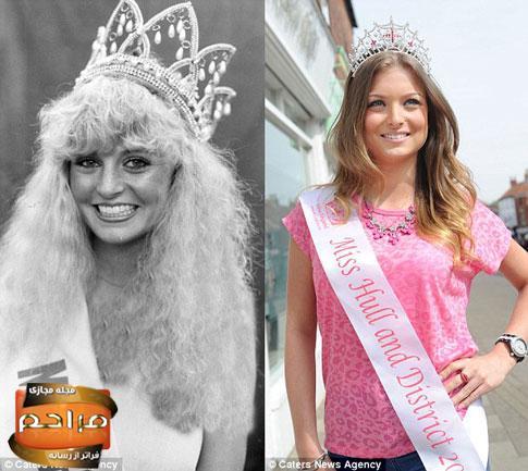 دختر زیبایی که 30 سال بعد از مادرش، ملکه زیبایی شد! + تصاویر