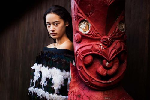 دختری زیبا از نیوزیلند