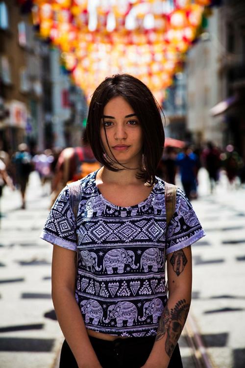 دختر زیبای استانبولی