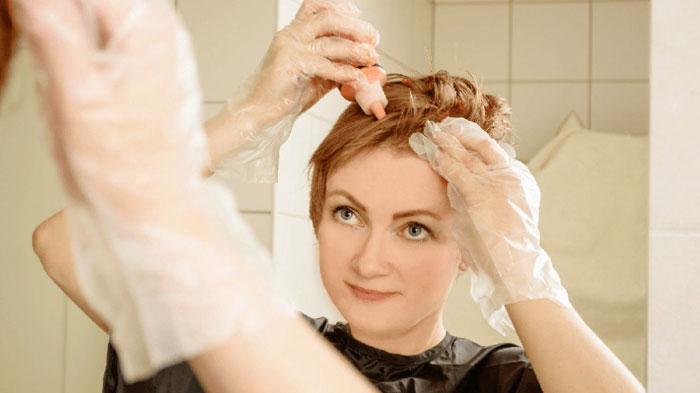 ترفندهای مفید برای رنگ کردن مو در خانه