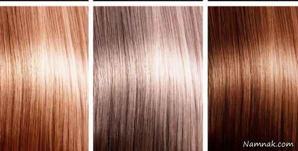 رنگ های طبیعی برای رنگ کردن مو در خانه