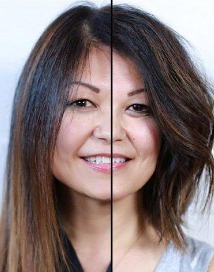 برای حجیم کردن مو، قد موها را کوتاه کنید