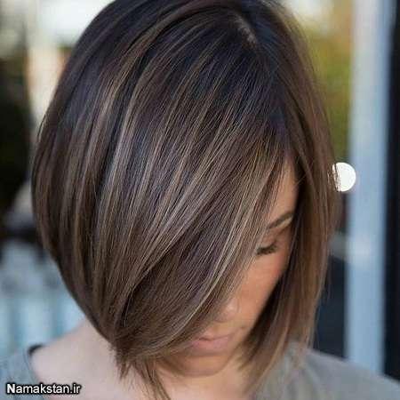 انواع مدل موی کوتاه برای صورت های کشیده 96-2017