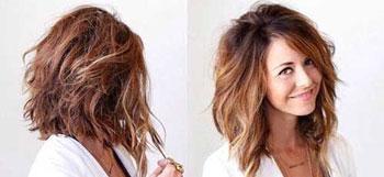 مدل های مو جذاب و زیبا برای صورت های گرد