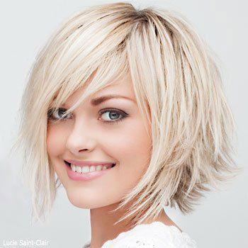 آرایش مو ویژه صورت های گرد زیبا و جذاب