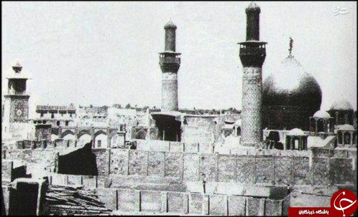 ضريح امام حسين (عليه السلام) در سال 1908 میلادی