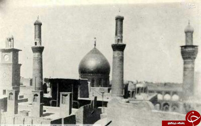 ضريح امام حسين (عليه السلام) در سال 1918 میلادی