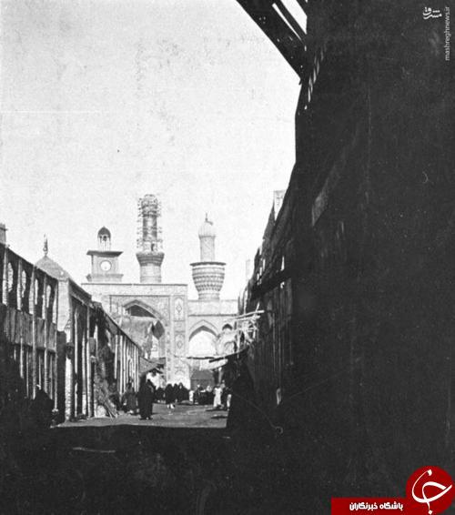 شهر کربلای معلی در سال 1918 میلادی