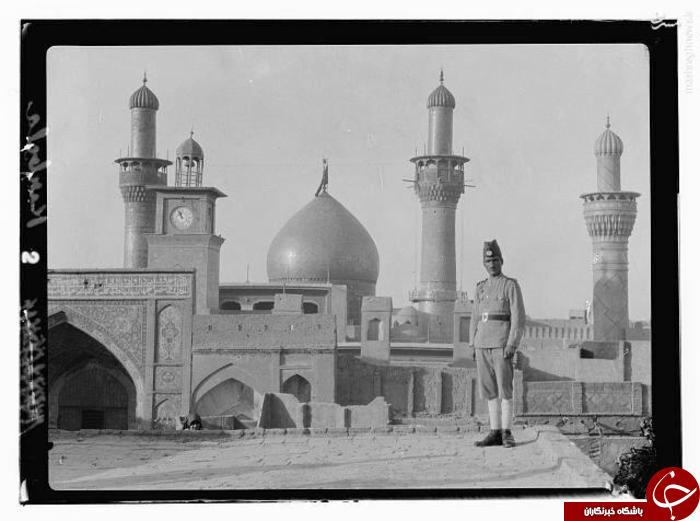 ضريح امام حسين (عليه السلام) در سال 1931 میلادی