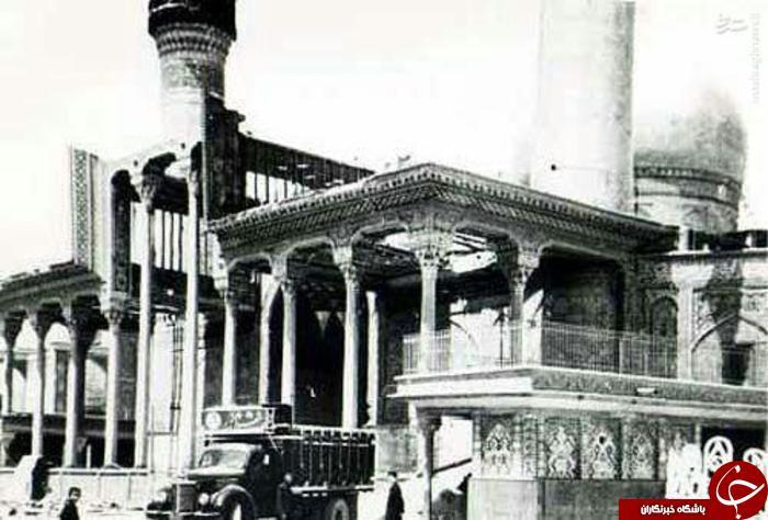 بارگاه امام حسين (عليه السلام) در دهه پنجاه قرن بیست