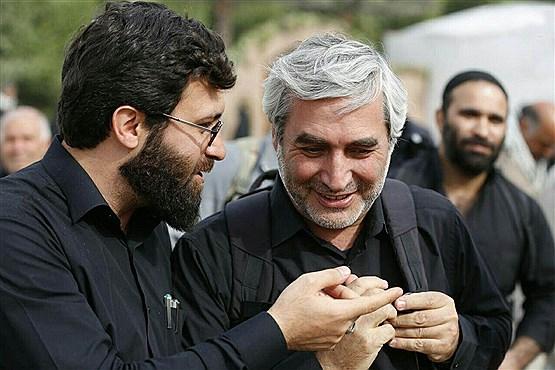 ابراهیم حاتمی کیا در پیاده روی اربعین + عکس