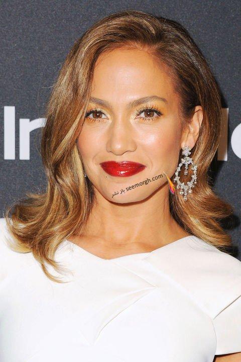 رنگ مو، هایلایت Jennifer Lopez جنیفر لوپز برای پاییز 2016