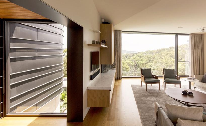 خانه ی زیبا و مدرن در سیدنی مشرف به ساحل بالمورال