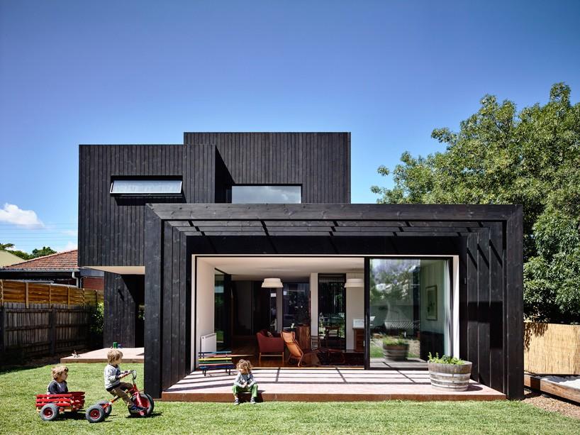 خانه گاث هاوس با چشم انداز زیبا در ملبورن + تصاویر
