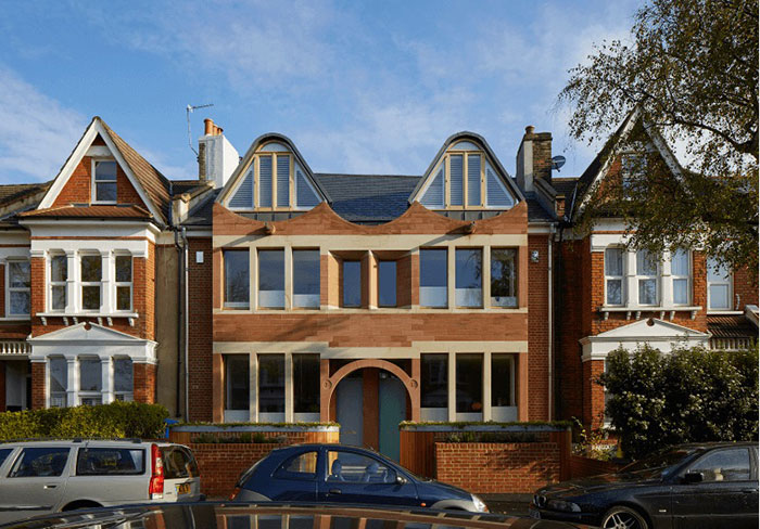 دکوراسیون خانه ای در یکی از محله های جنوب لندن