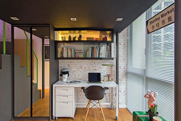 دکوراسیون شیک و مدرن آپارتمانی در سنگاپور الهام گرفته از آثار هنری
