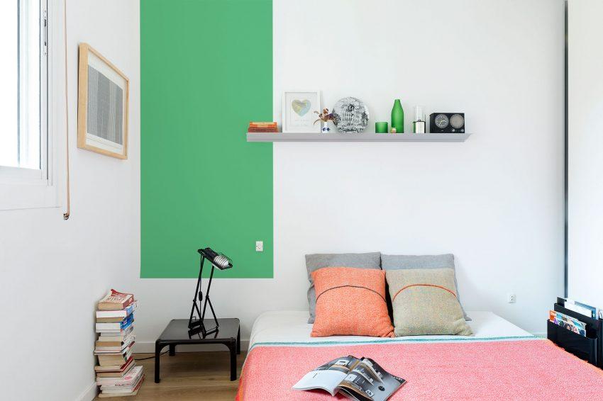 آپارتمان های رنگارنگ و مدرن با دکوراسیون هنری در بارسلونا