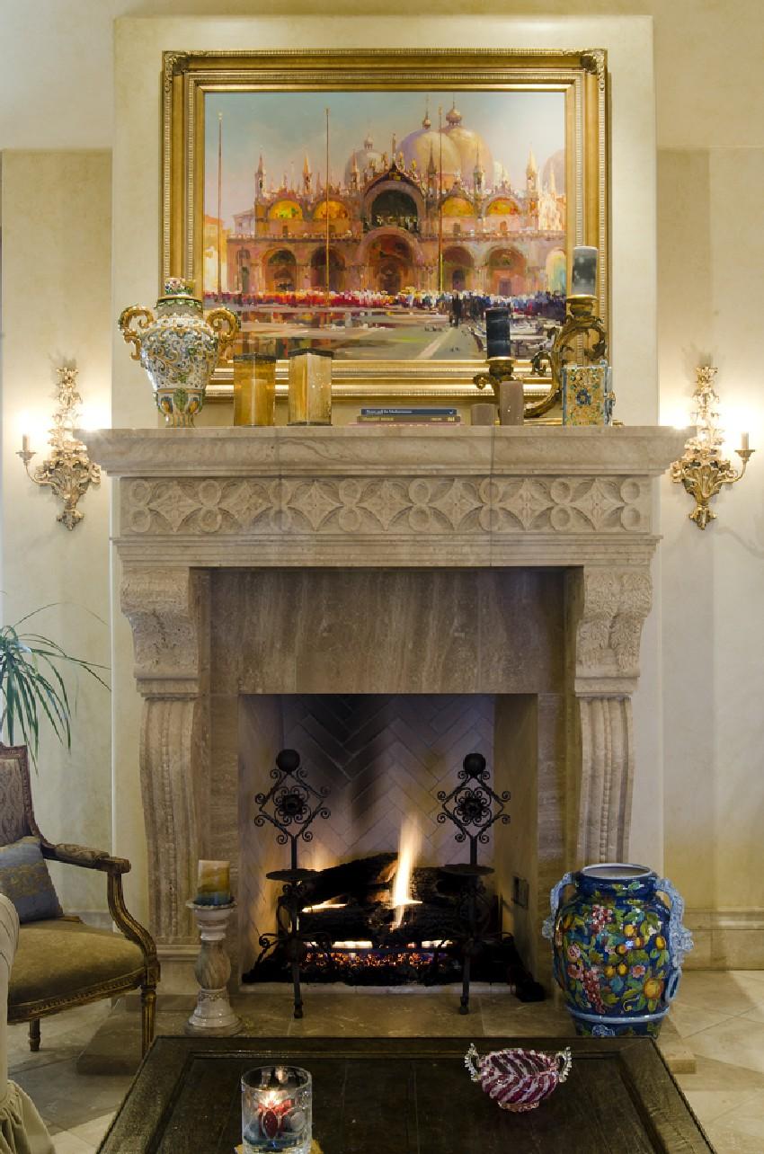 خانه زیبا با دکوراسیون کلاسیک در اوکلاهاما