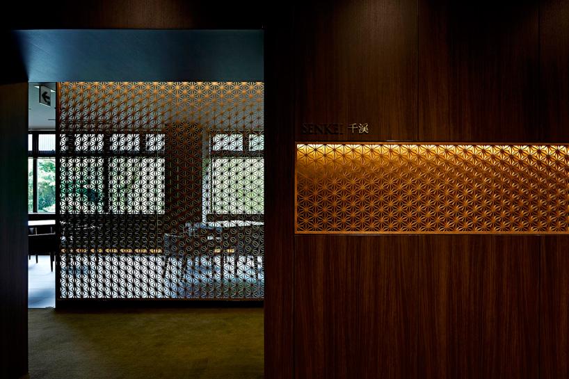 رستوران زیبا با دکوراسیون مدرن از هنر سنتی ژاپنی در توکیو + تصاویر
