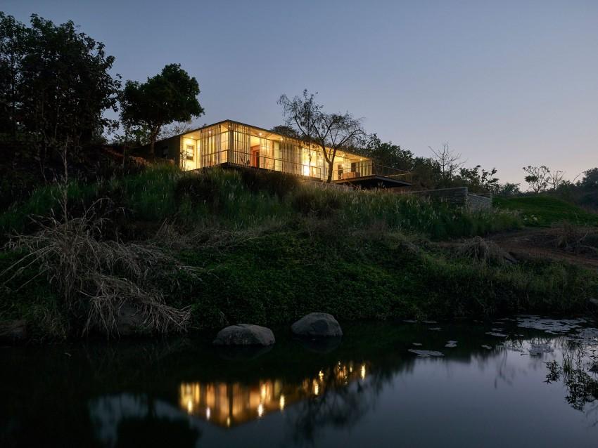 دکوراسیون مدرن خانه زیبای ساحلی در هند + تصاویر