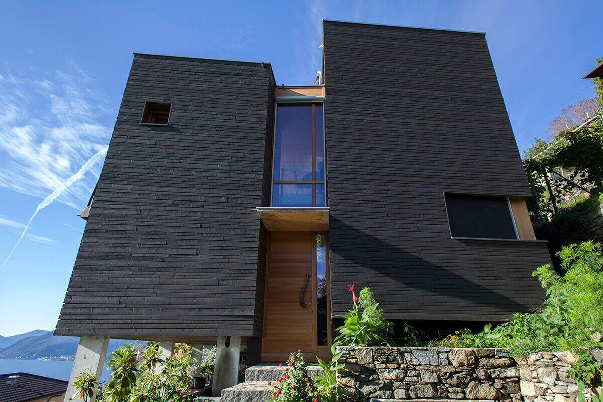 خانه روستایی مدرن و زیبا کنار دریاچه ای در سوییس