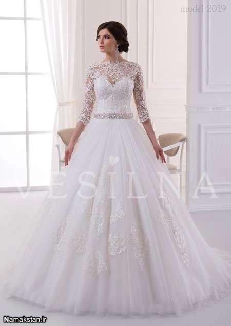 انواع مدل لباس عروس اسکارلت 2017، انواع مدل لباس عروس شیک و جدید، ژورنال جدیدترین لباس های عروس زیبا
