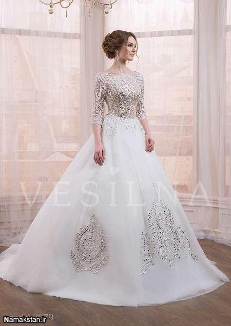 ژورنال لباس عروس اسکارلت شیک و زیبا 2017