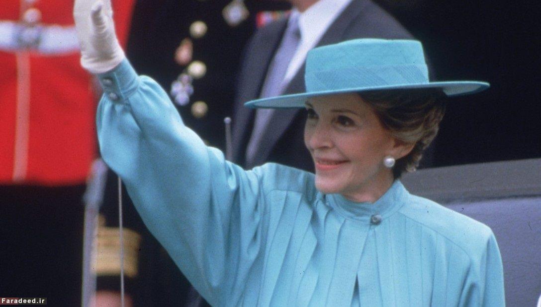 نانسی ریگان، هنرپیشه و بانوی اول آمریکا
