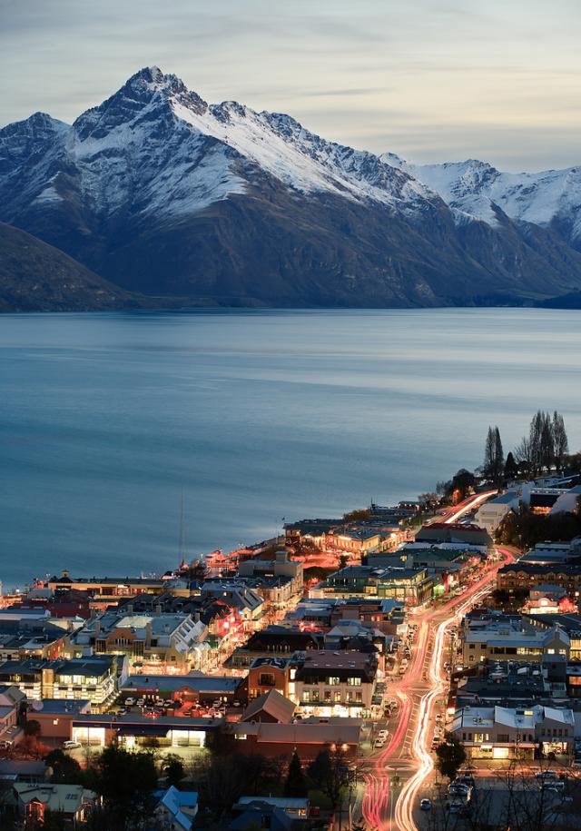 کوئینز تاون در اوتاگوی نیوزلند