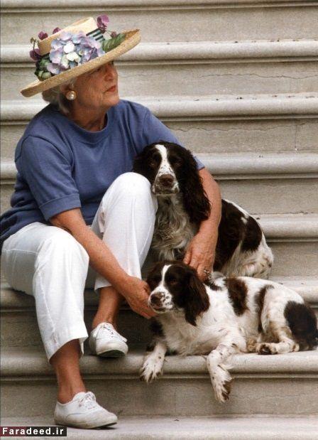 باربارا بوش، بانوی اول آمریکا