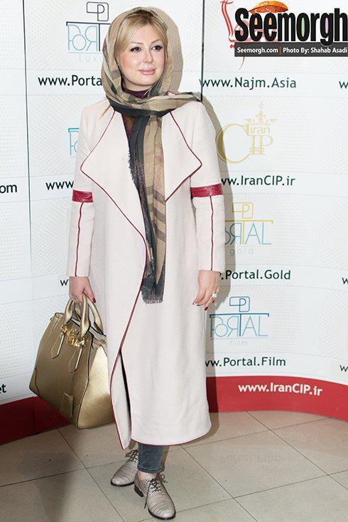 مدل مانتو به سبک بازیگران مشهور زن در اکران فیلم جاودانگی