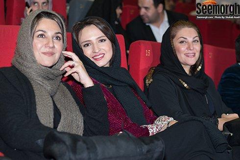عکس های گلاره عباسی، فقیهه سلطانی و مینا وحید در اکران فیلم نفس