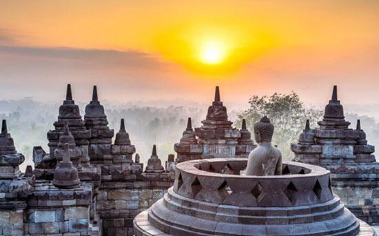 معبد بوروبودور، اندونزی