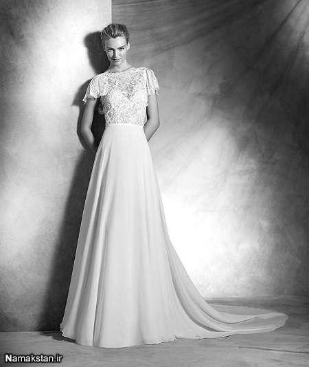 شیک ترین مدل های لباس عروس فانتزی