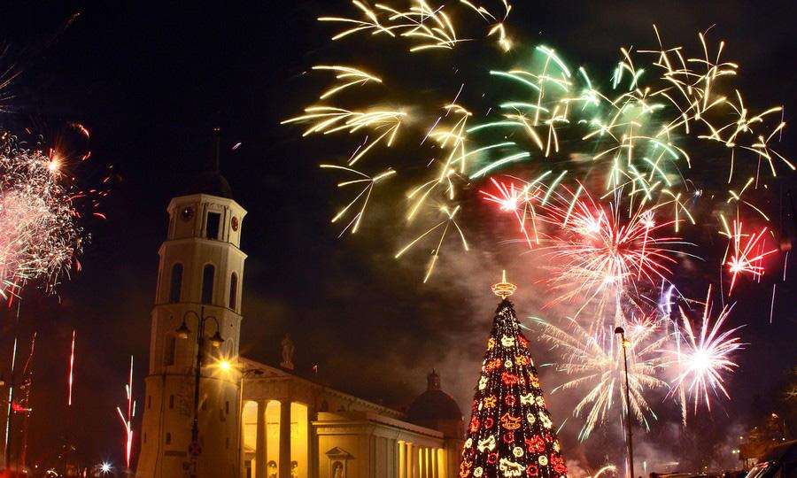 جشن سال نو در مادرید، اسپانیا